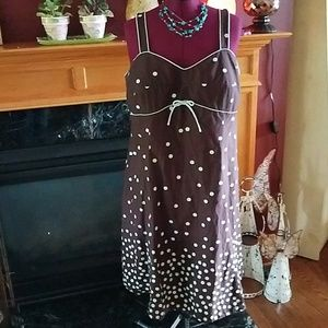 R & K Plus size Sun Dress
